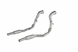 Downpipe / Link pipe set (SS) na Audi RS Q8 (4M) - OPF/GPF 2020